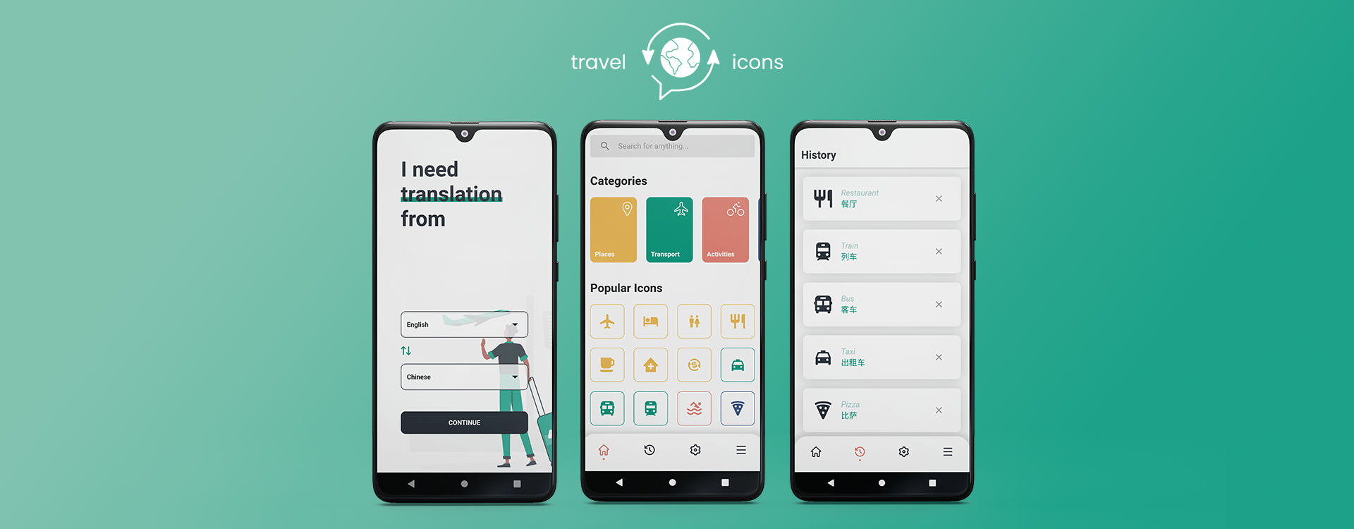 How We Built the Travel Icons App